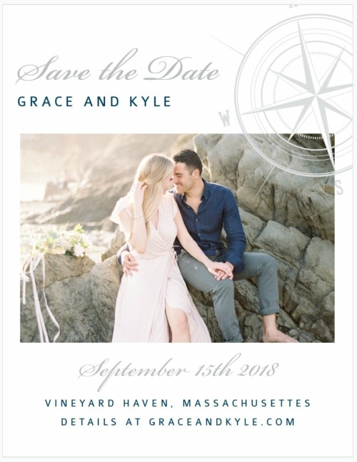 Destination Wedding Save the Date Ideas - Destination Wedding Details
