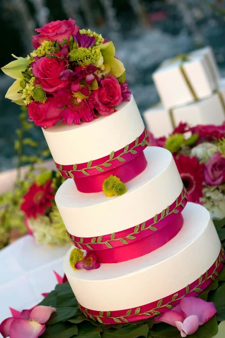 Large Of Beach Wedding Cake