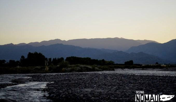Río Tunuyán, Valle de Uco