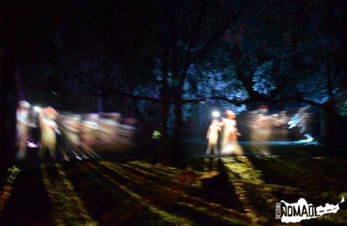 Espectáculo nocturno en San Ignacio
