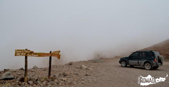 Ruta 40 camino al Abra del Acay