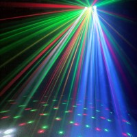 3-in-1 Effects Dual Lense LED Mobile DJ Disco Laser ...
