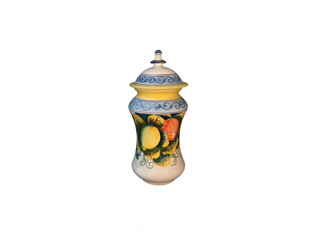 Provence Decoration Pharmacy Vase With Cover Provence Decoration Vessels Collection
