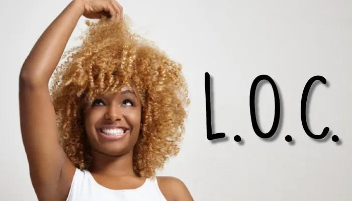 Técnica LOC - Como finalizar cabelos crespos e cacheados