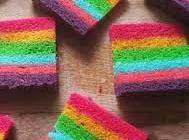 Resep Rainbow Cake Kukus Yang Mantap