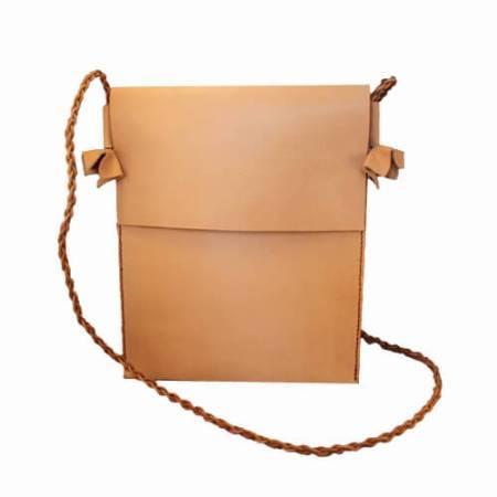 iPad posttaske - Det Lille Læderi