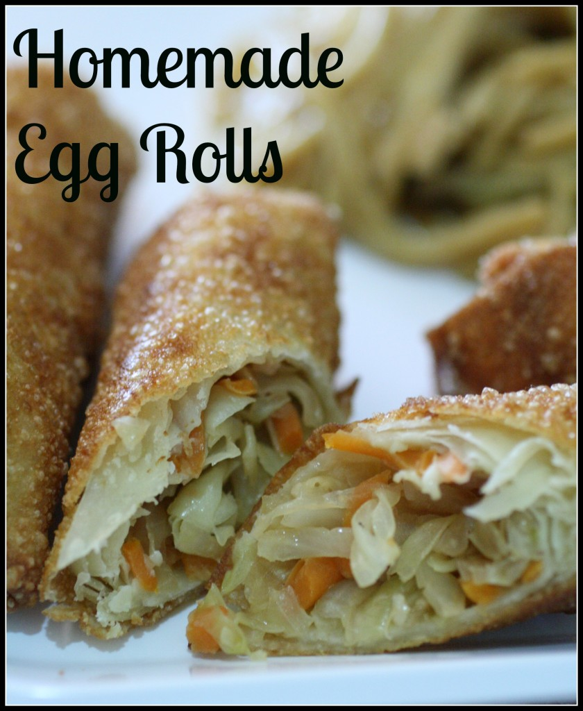 Homemade Egg Roles - Detours in Life