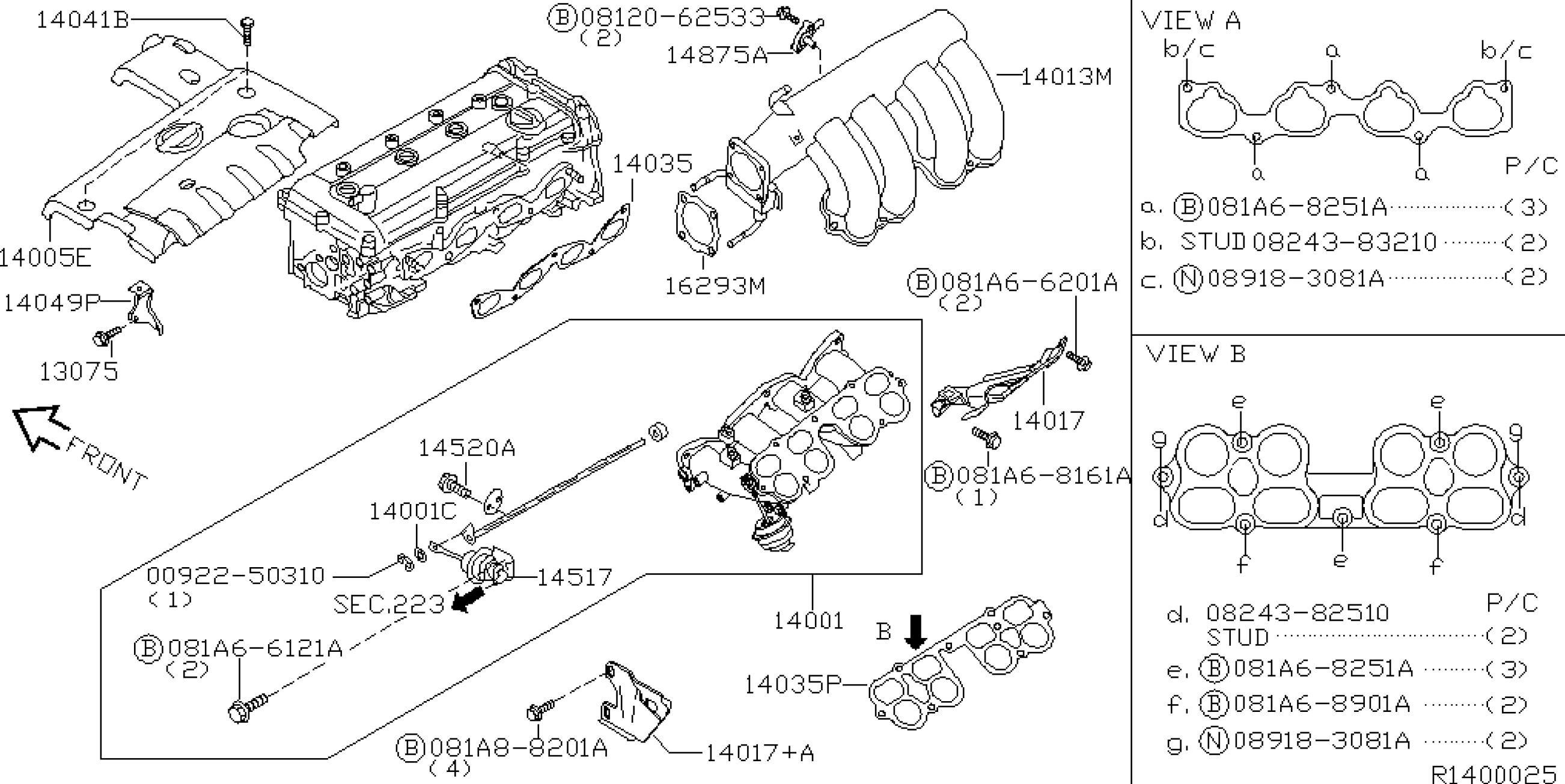 93 nissan d21 fuse box diagram
