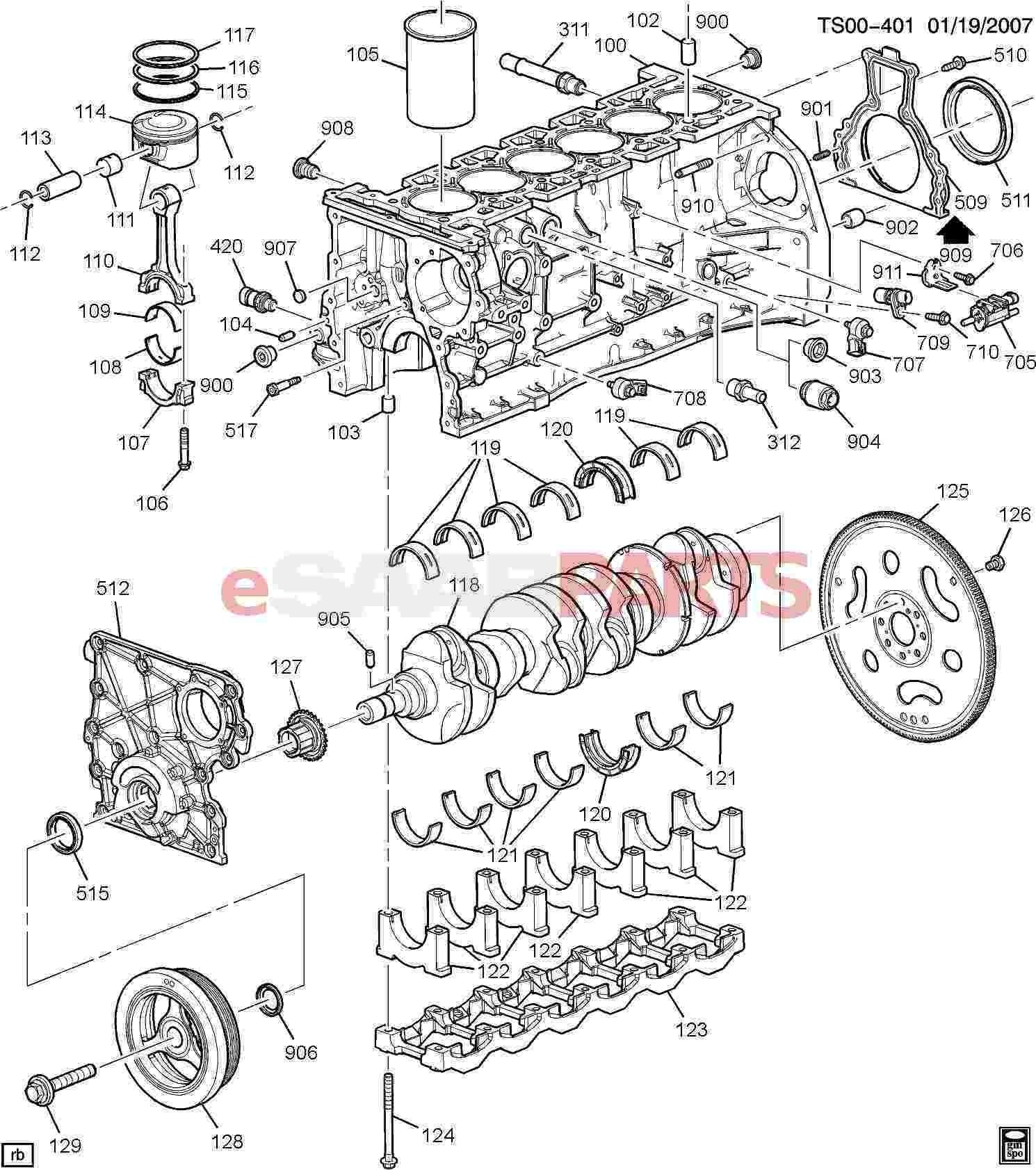 2002 chevy 4 3l engine diagram