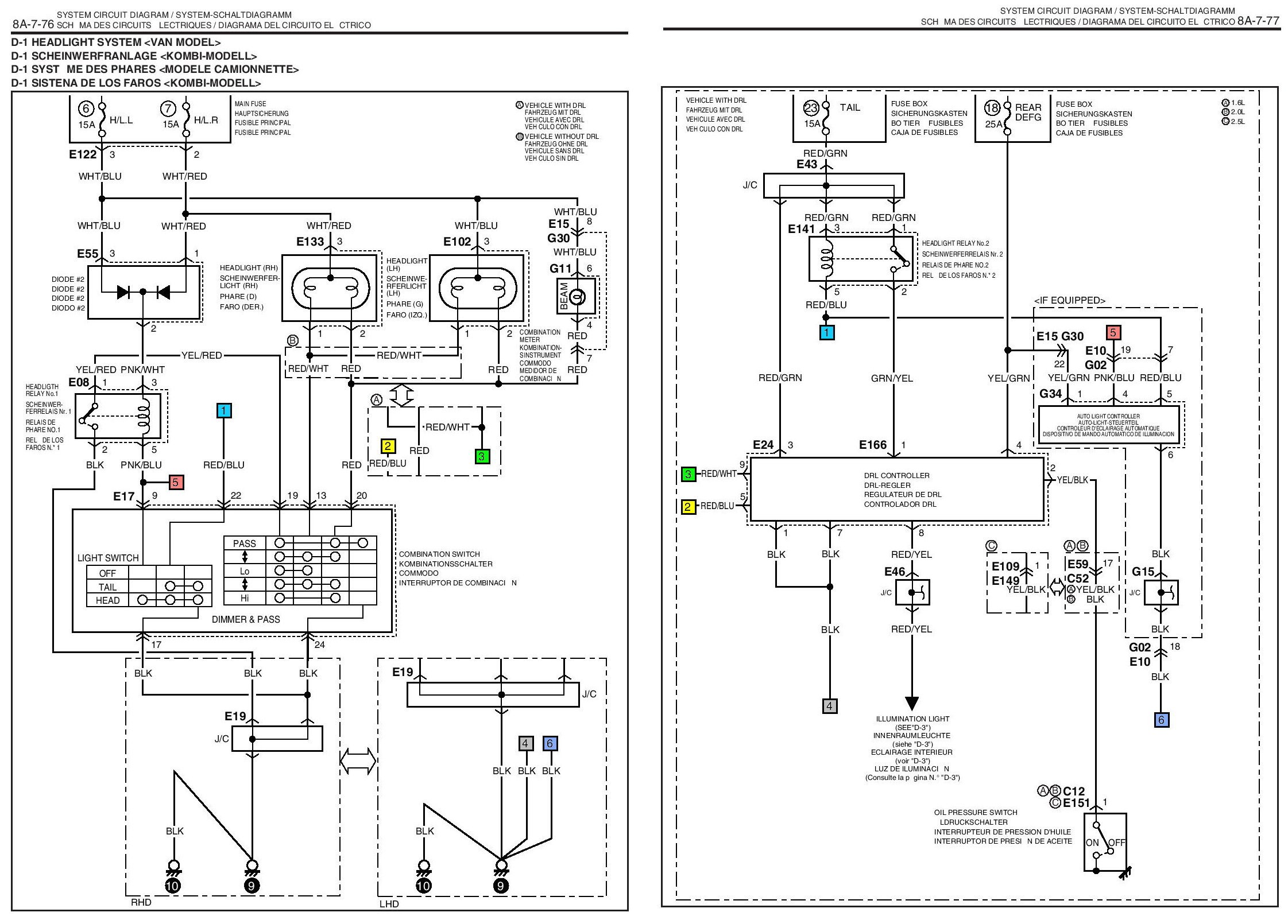 91 daihatsu rocky wiring diagram