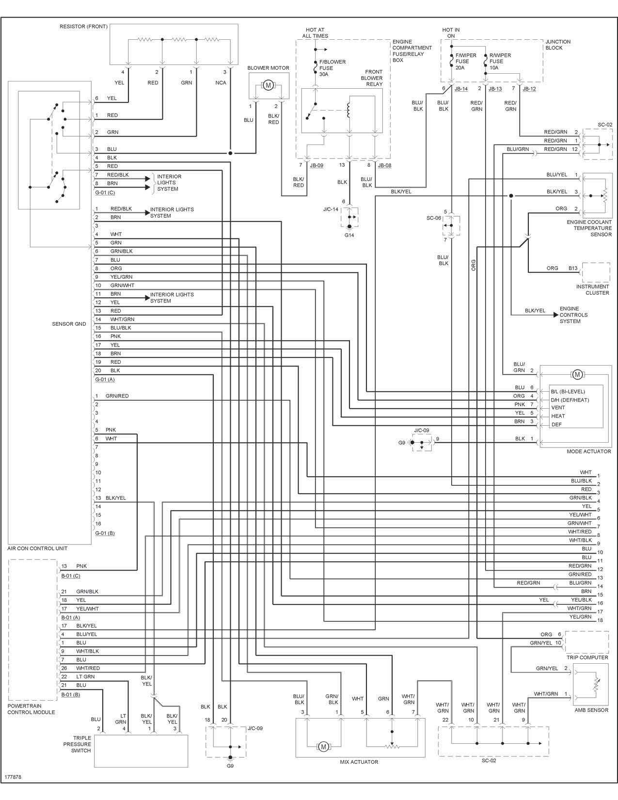 wiring diagram kia picanto 2006