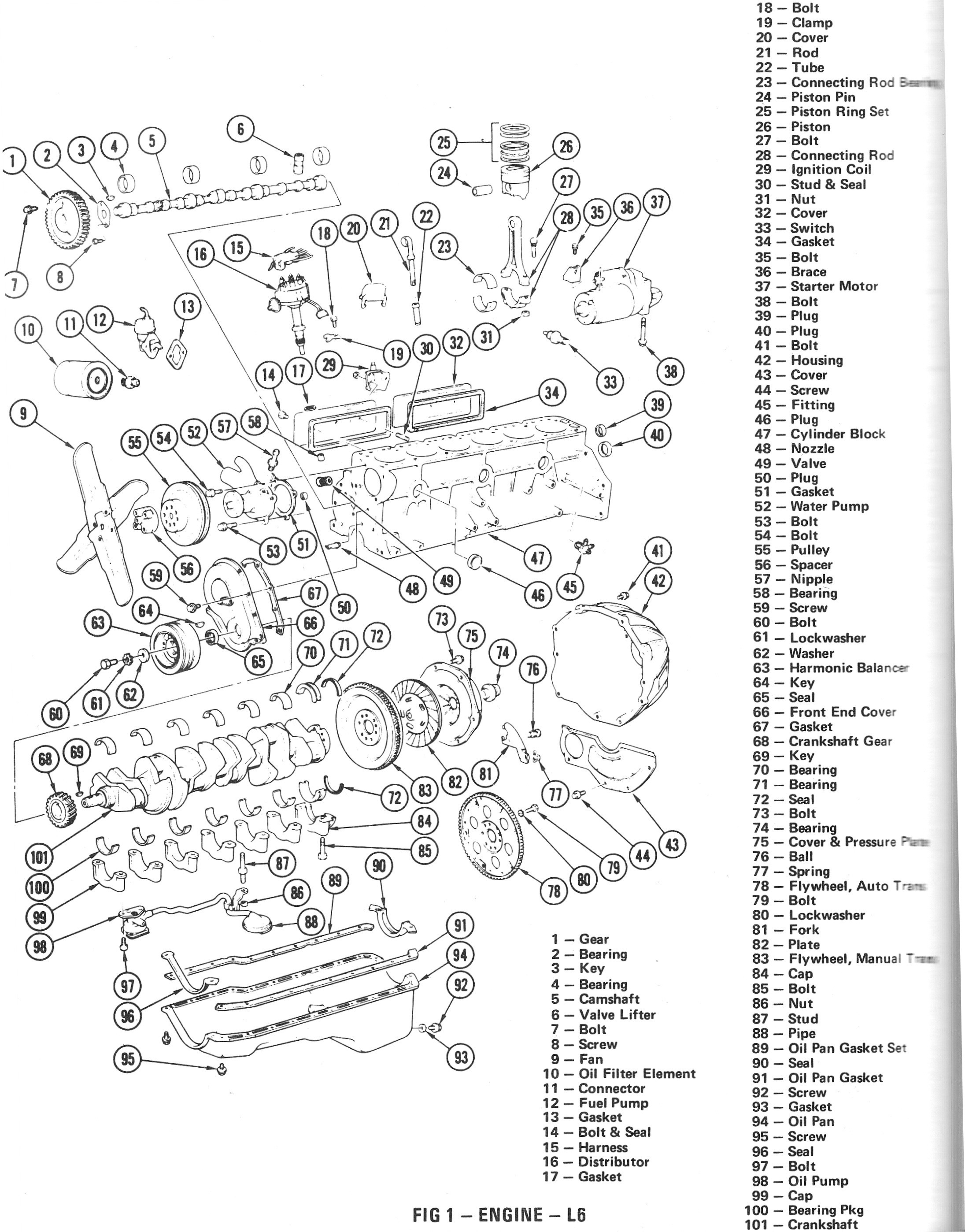 pontiac 3300 v6 engine diagram