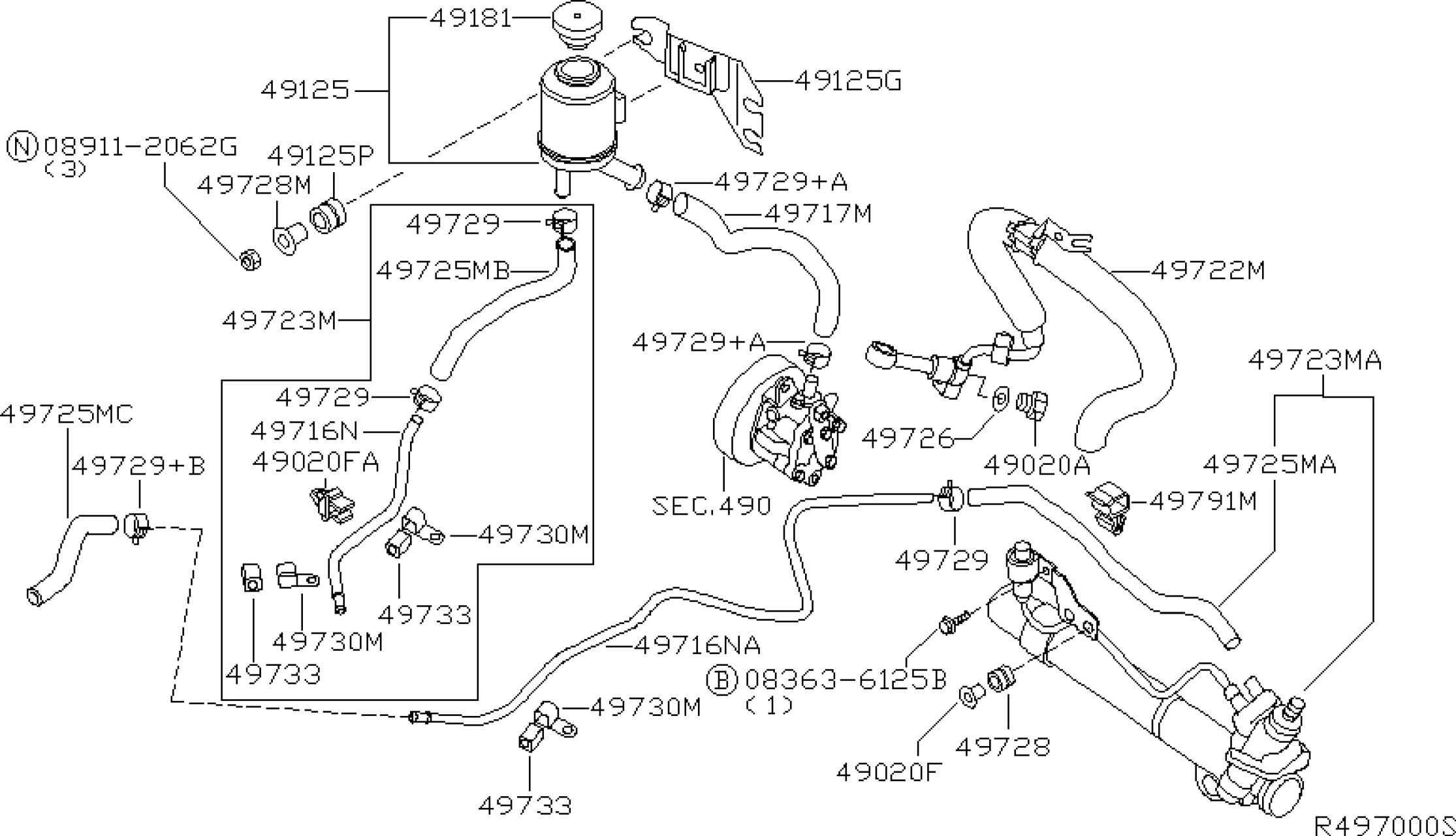 2005 Nissan Altima Belt Diagram