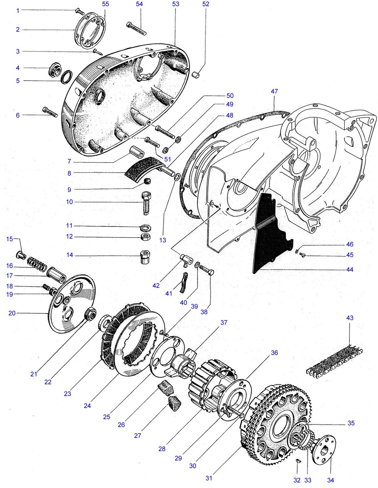 [WRG-6760] Wiring Diagram Bsa A65