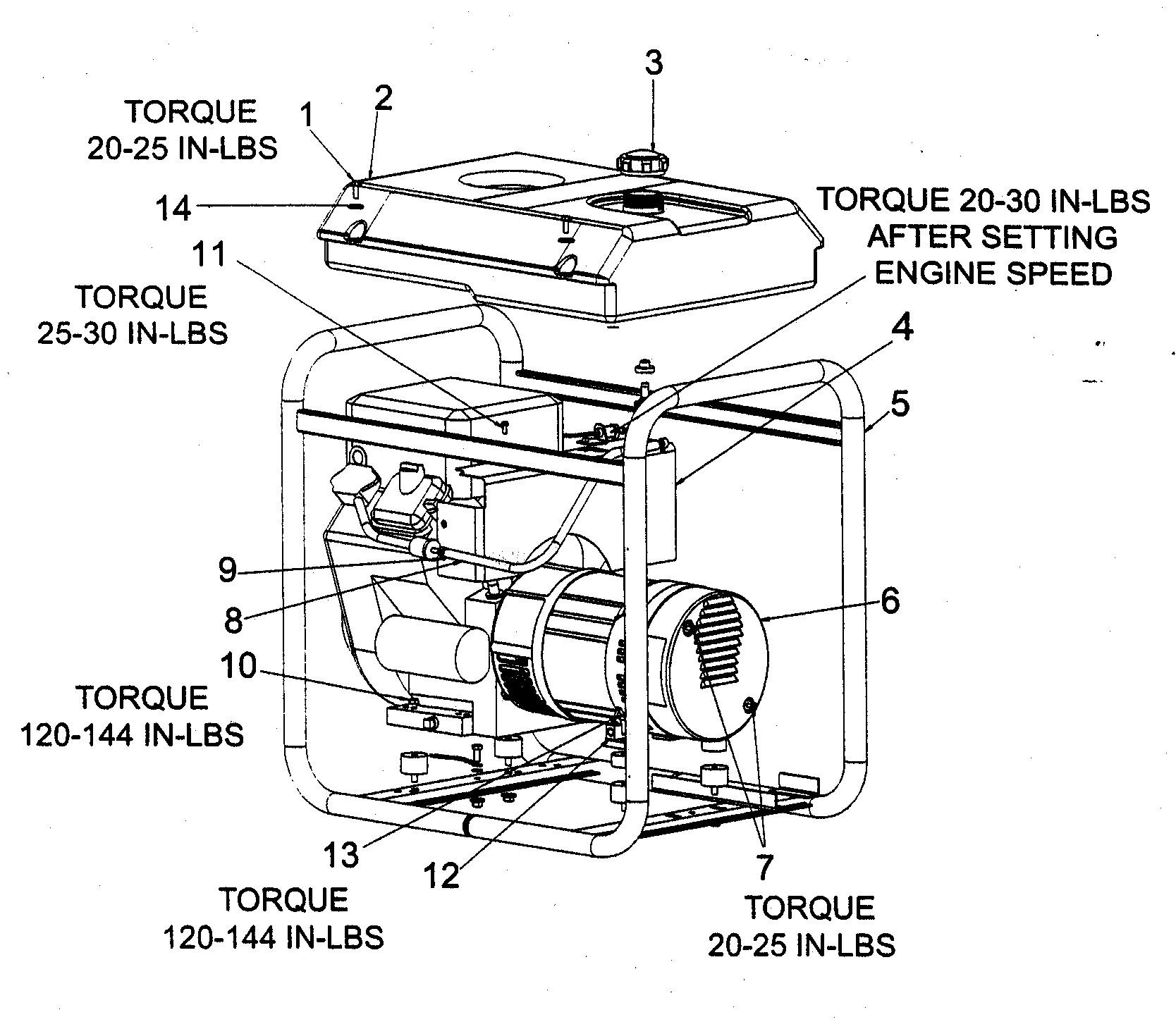 coleman powermate 6875 wiring diagram