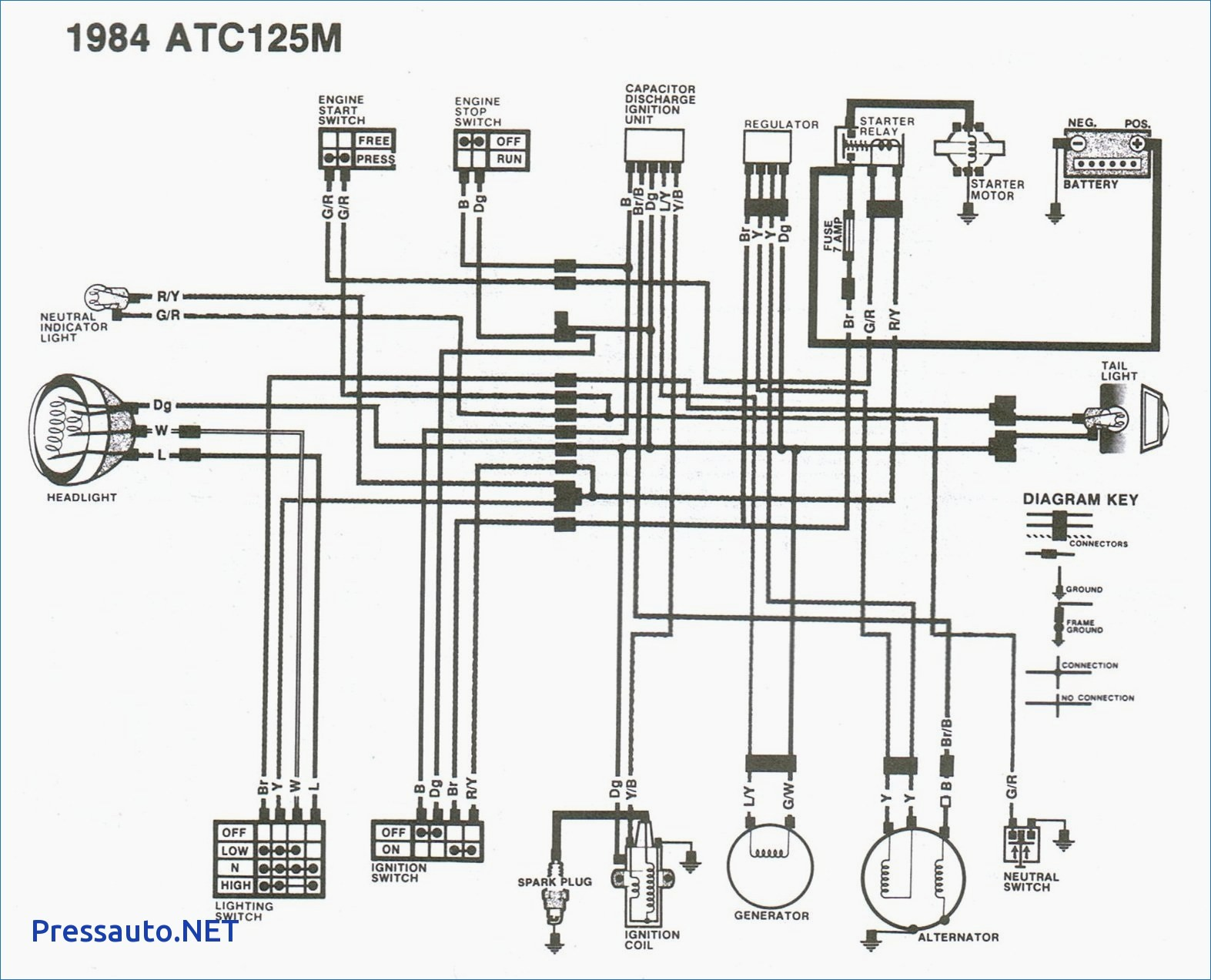 honda xr200 wiring diagram