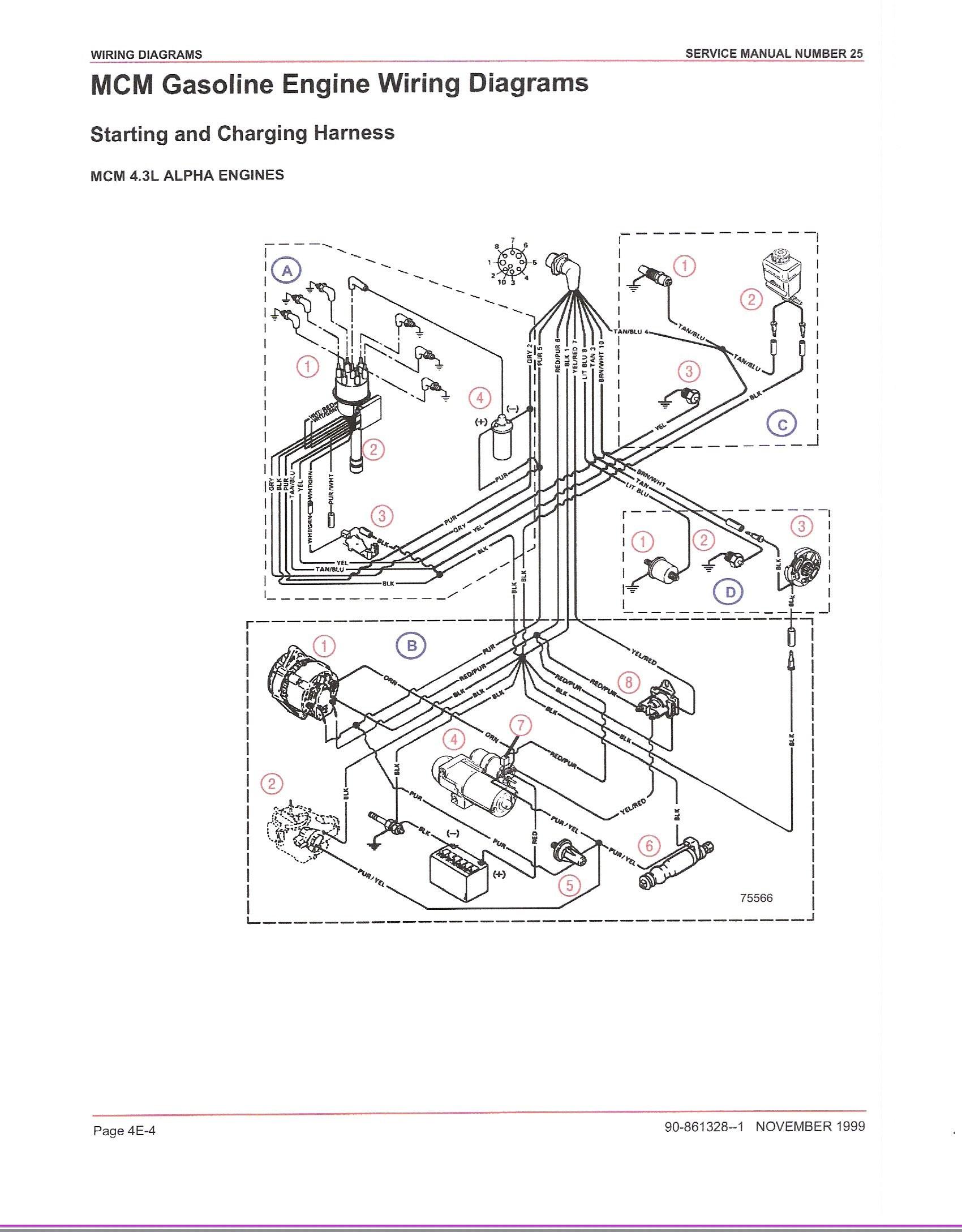 omc tilt trim wiring diagram