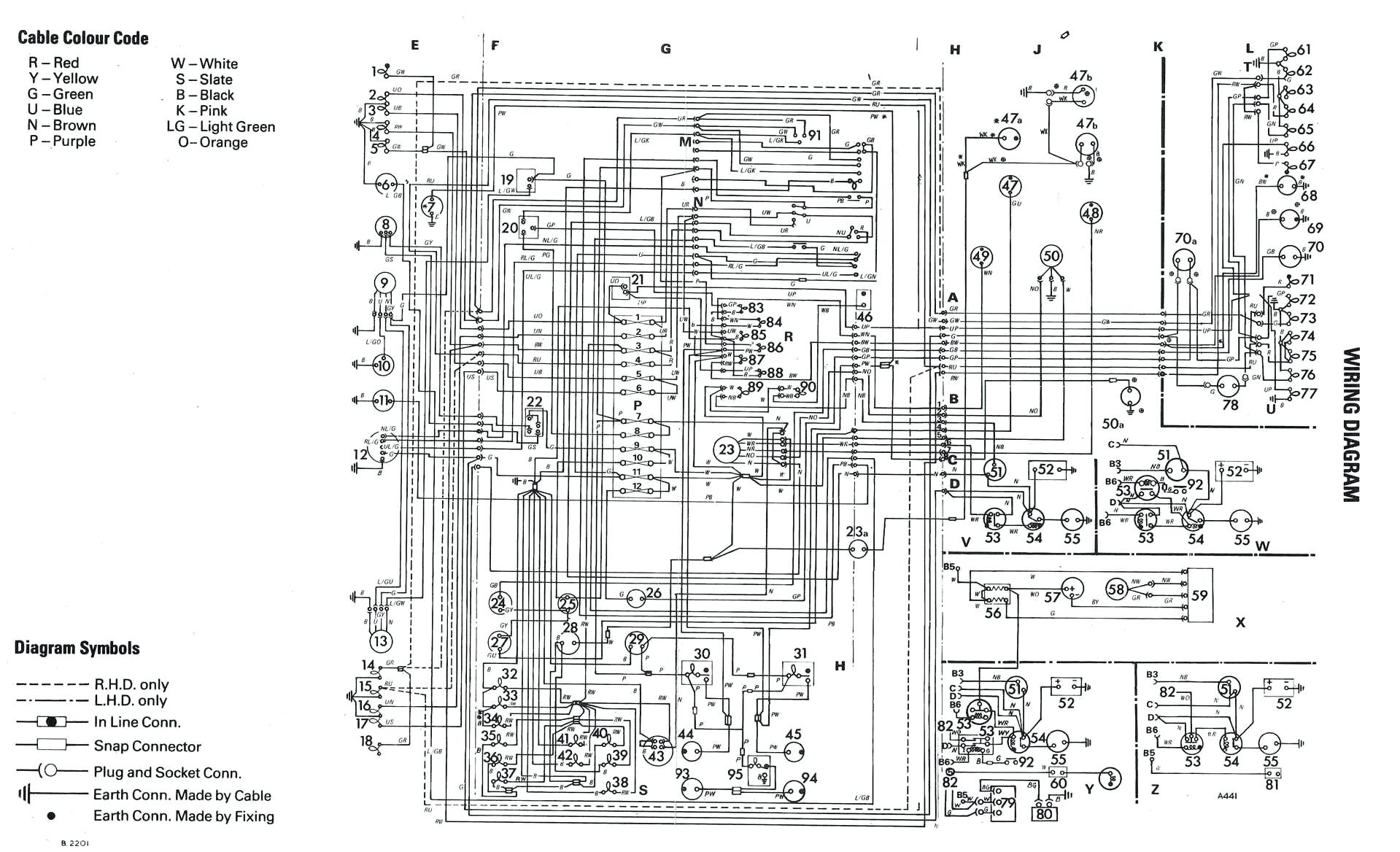 1970 vw beetle ignition switch wiring diagram