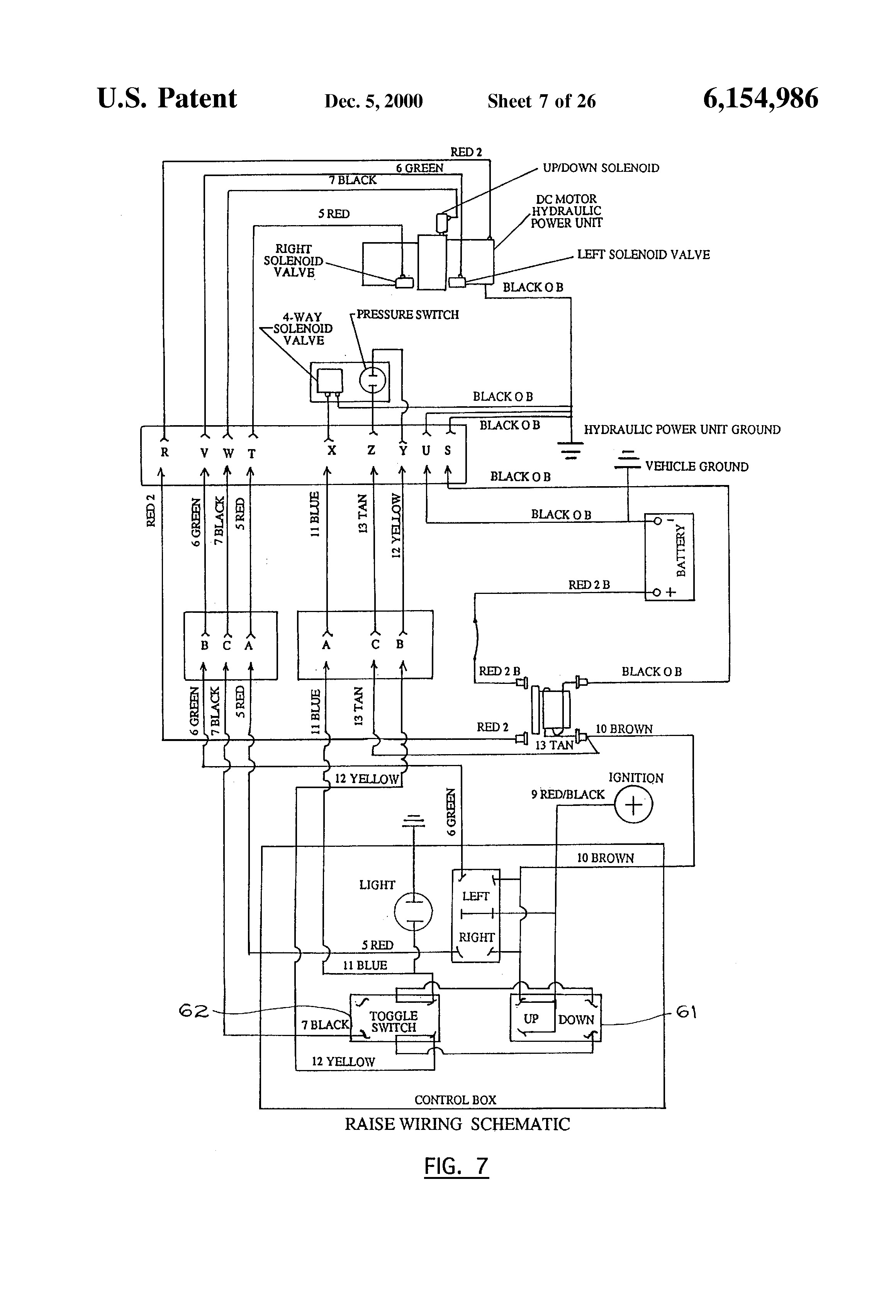 hydraulic snow plow wiring diagram