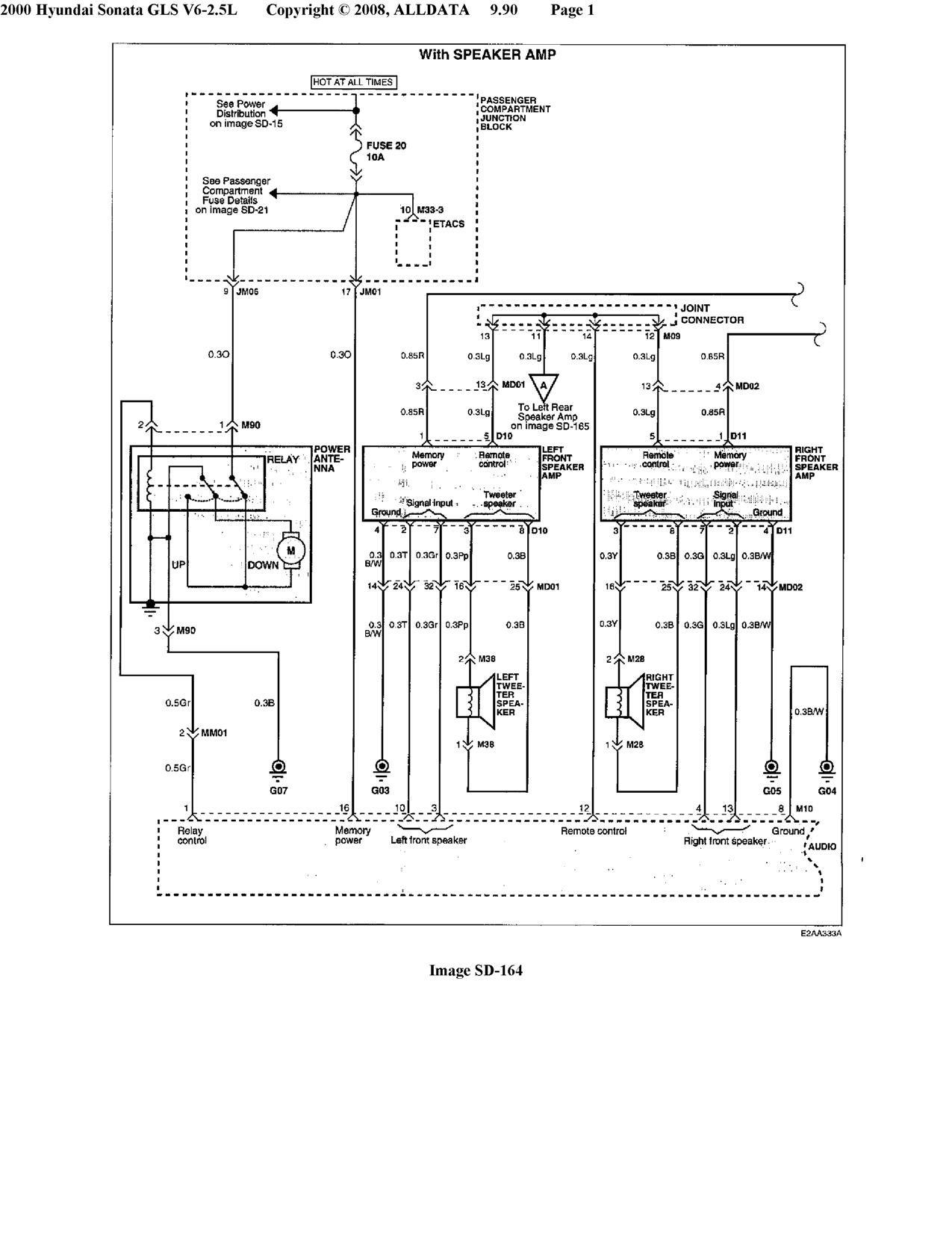 hyundai engine wiring harness