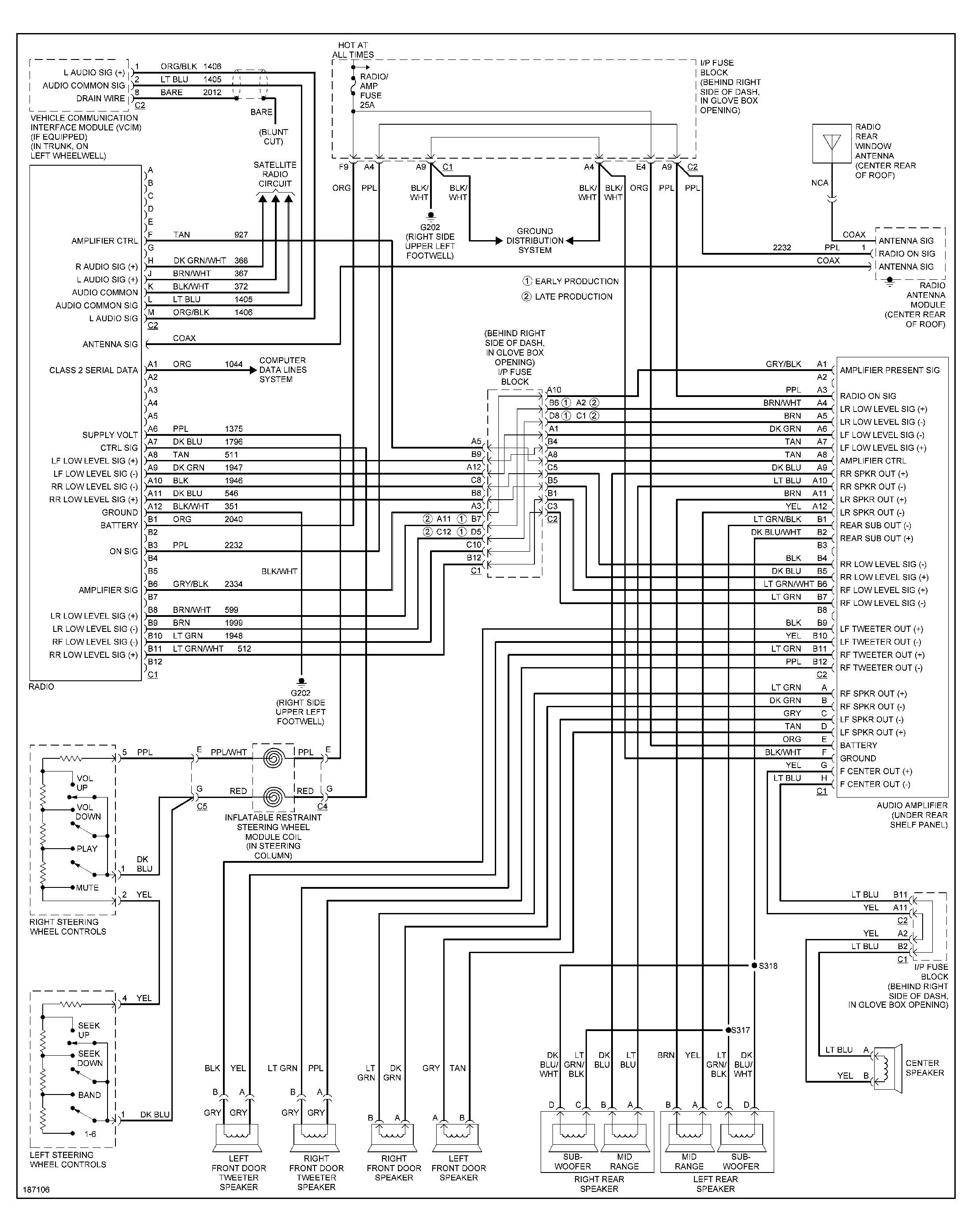 ford escort radio wiring diagram 1998