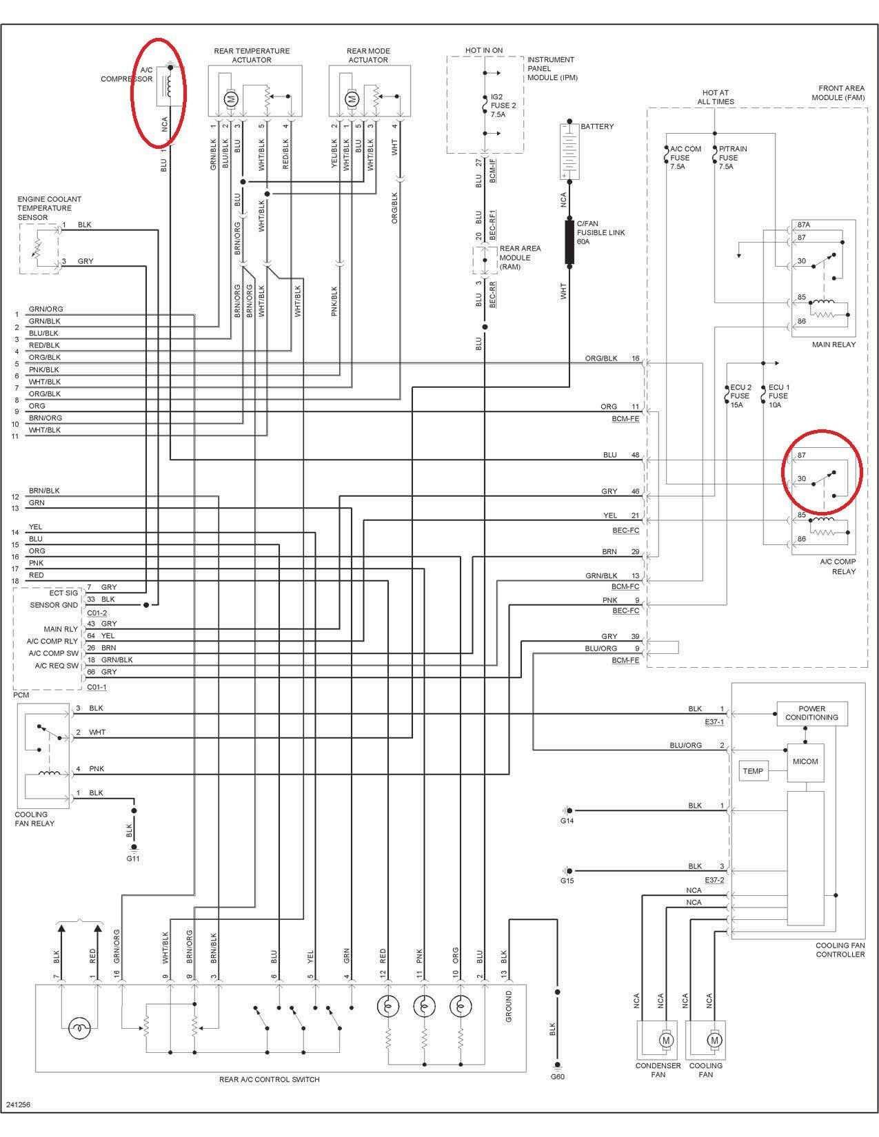 2005 kia sorento color wiring diagram auto electrical wiring diagram rh bridallingerie me