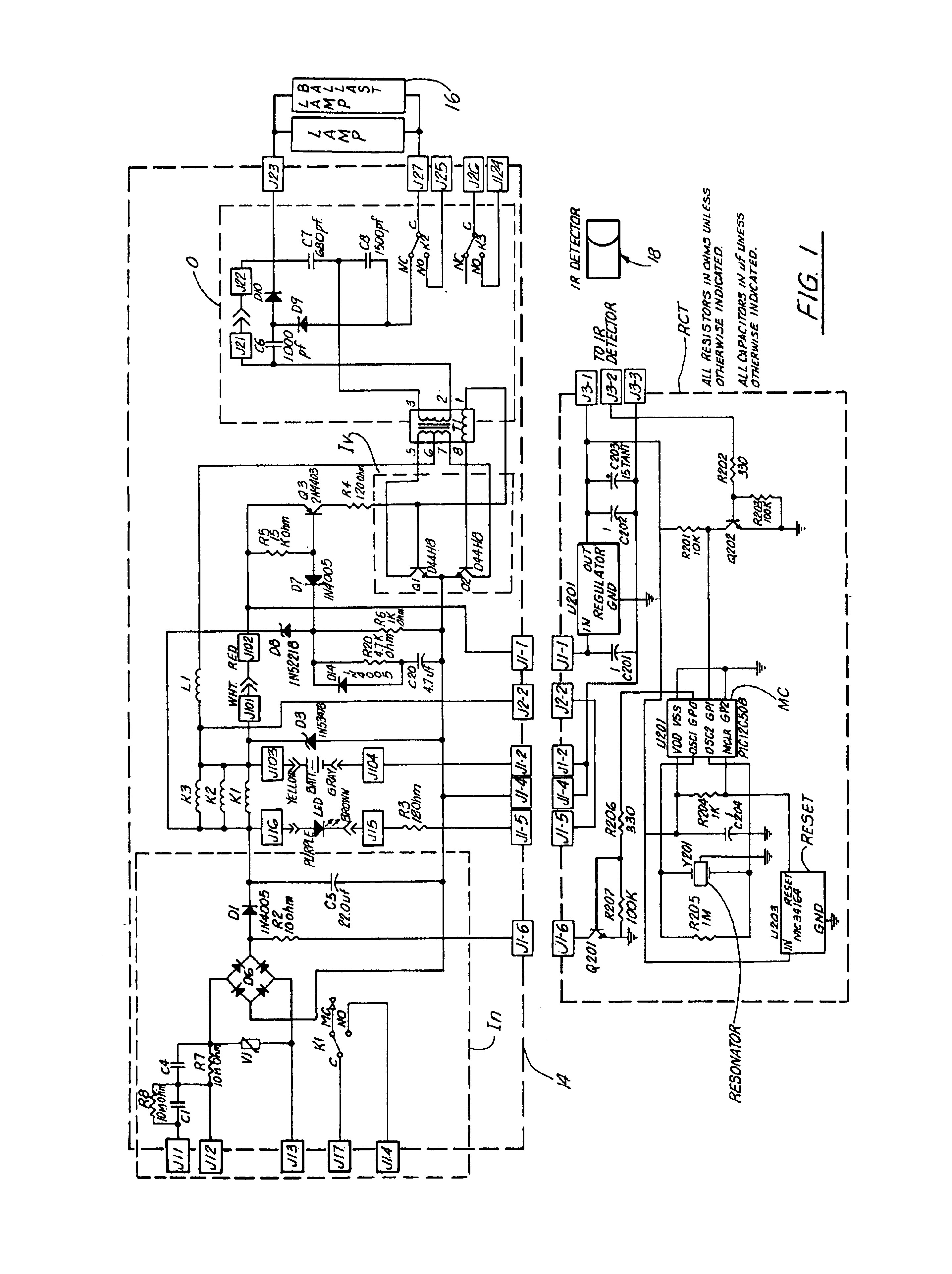 emergency ballast wiring schematic