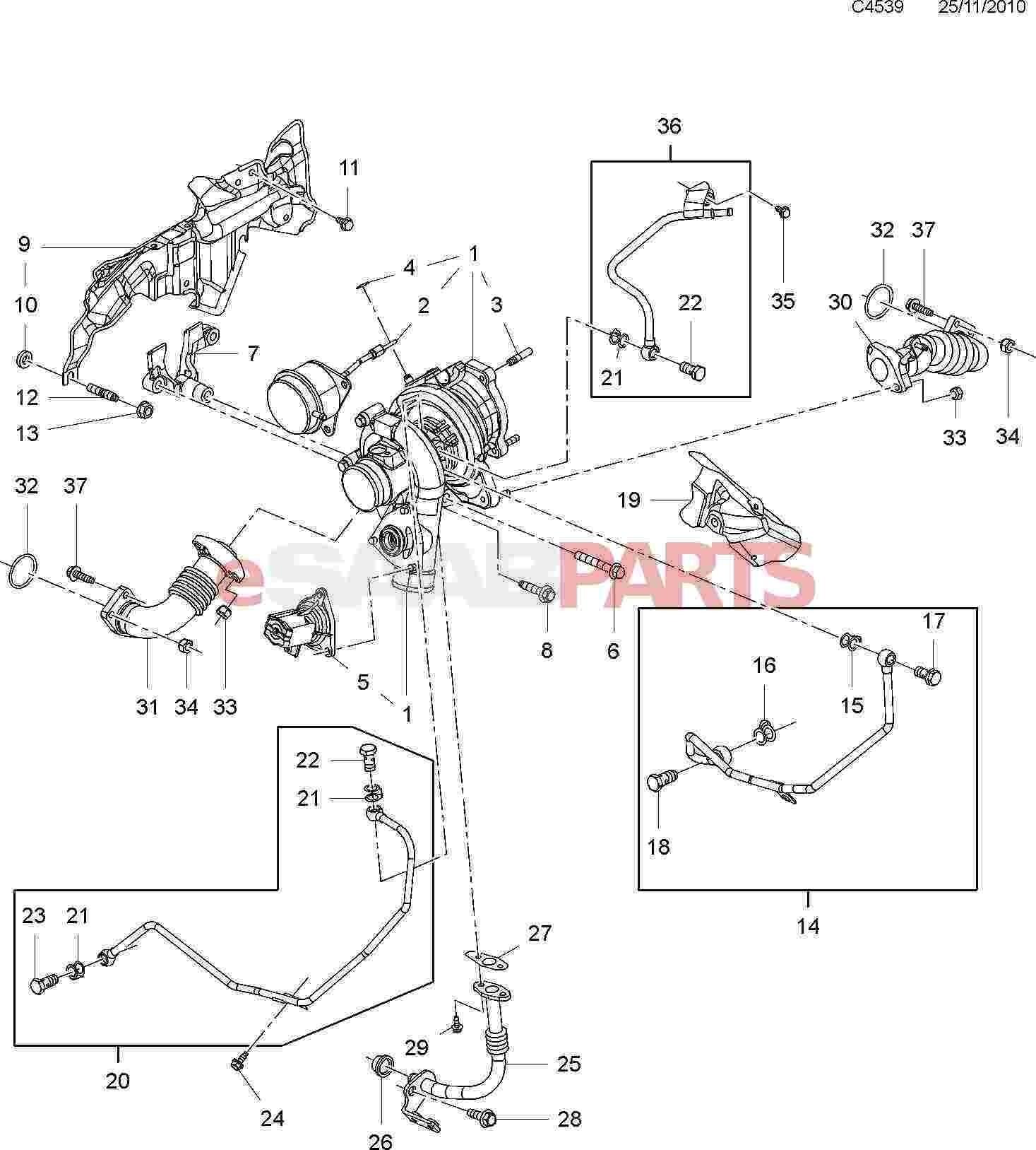 gm 3 8 liter engine diagram