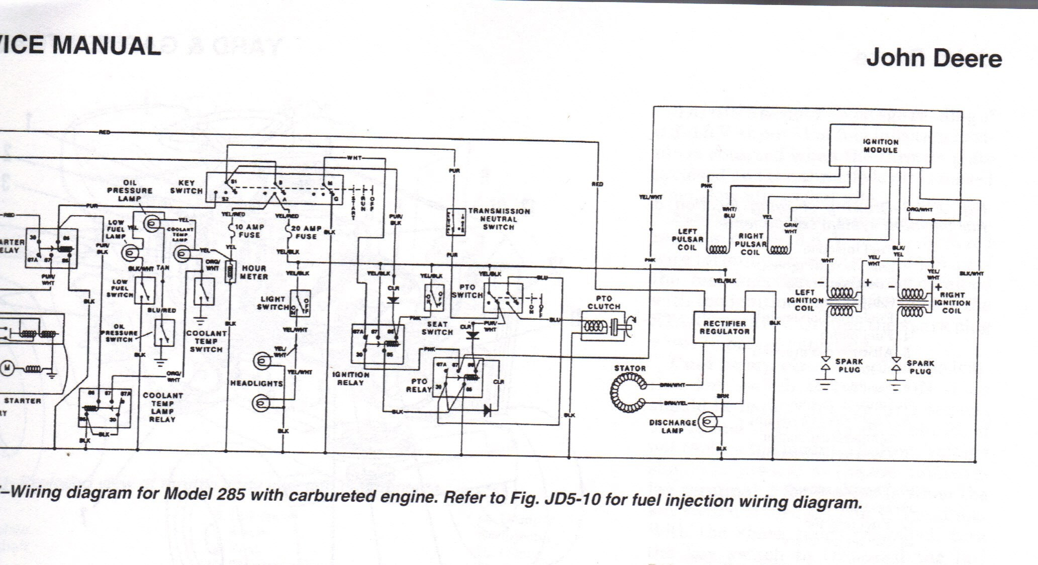 case 444 wiring diagram