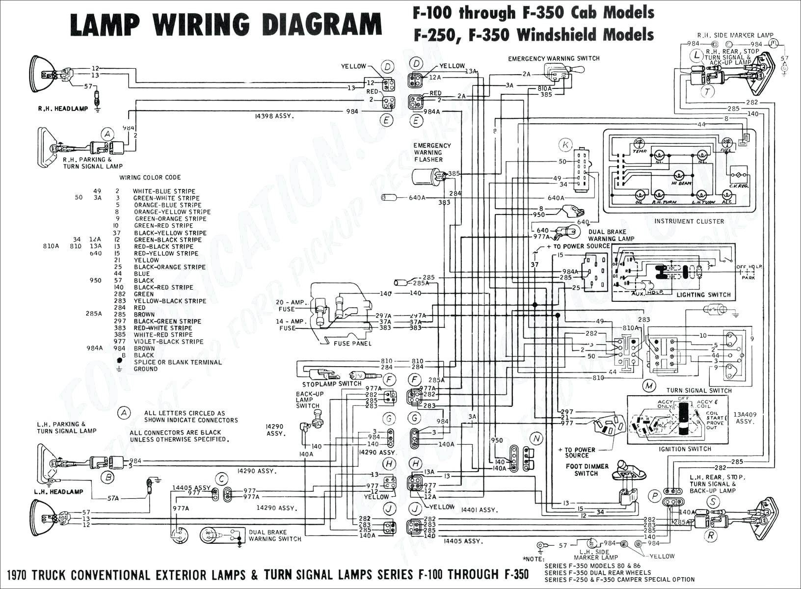 ford truck wiring diagrams f53 flasher