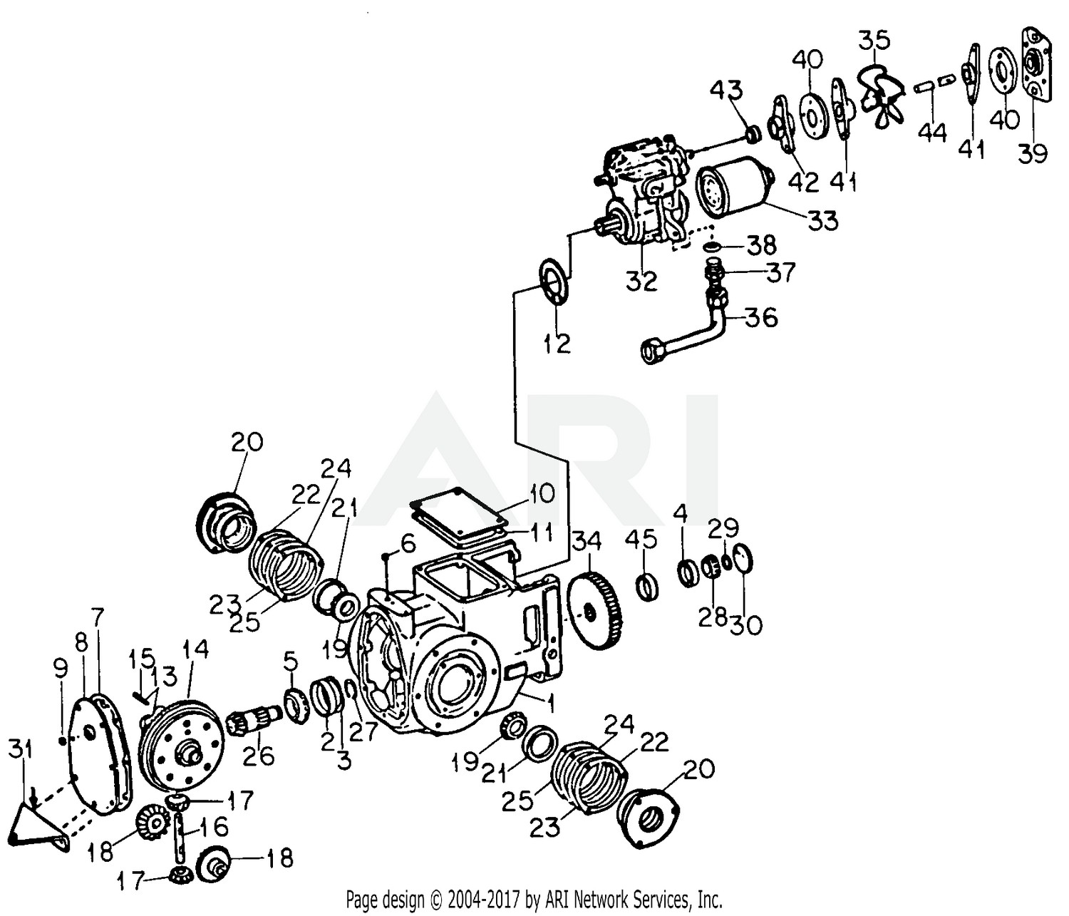 145 ford tractor wiring diagram