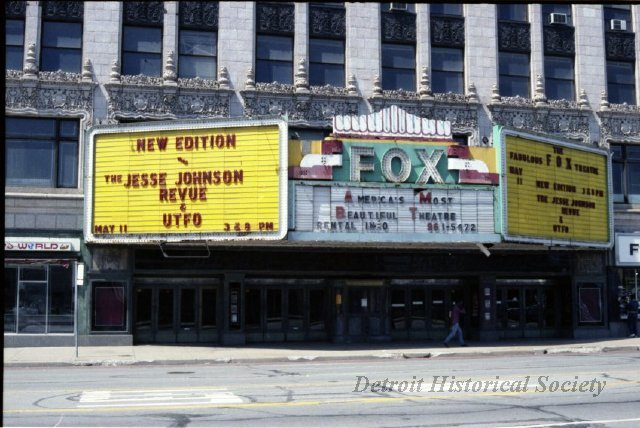 Fox Theatre Detroit Historical Society