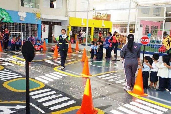 Circuito Vial : Mediante circuito vial capacitarán a miles de escolares