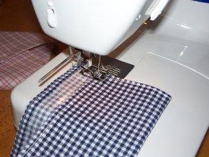 sew edges together