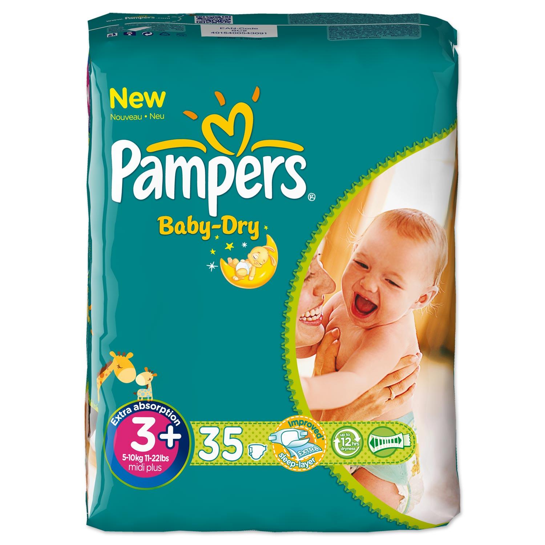 Pampers Baby-Dry Gr. 3特價6.49歐_德淘網