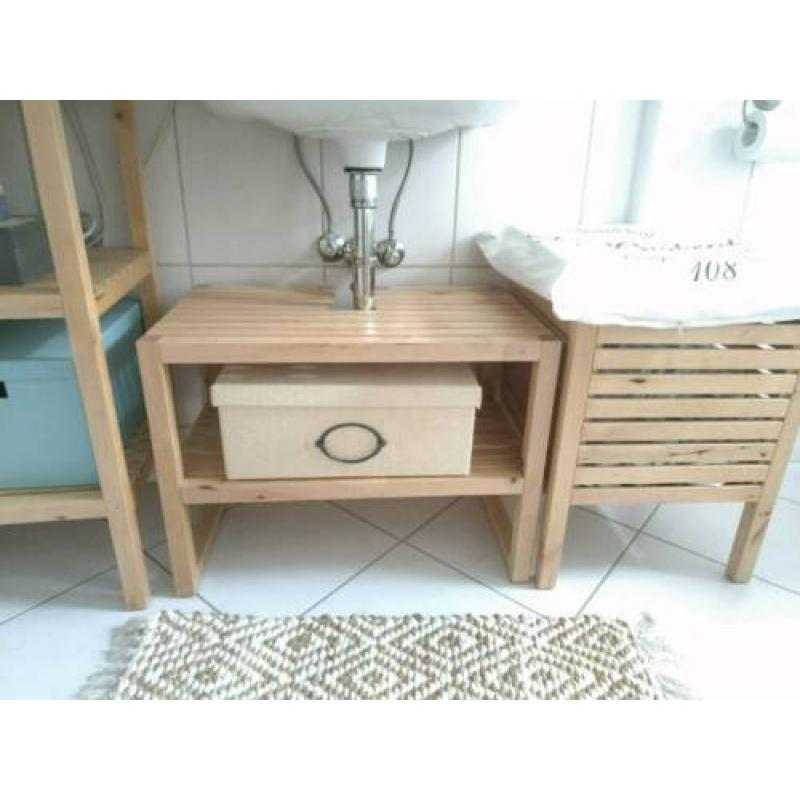 Badezimmer Set Ikea Molger Unterschrank Regal Bad