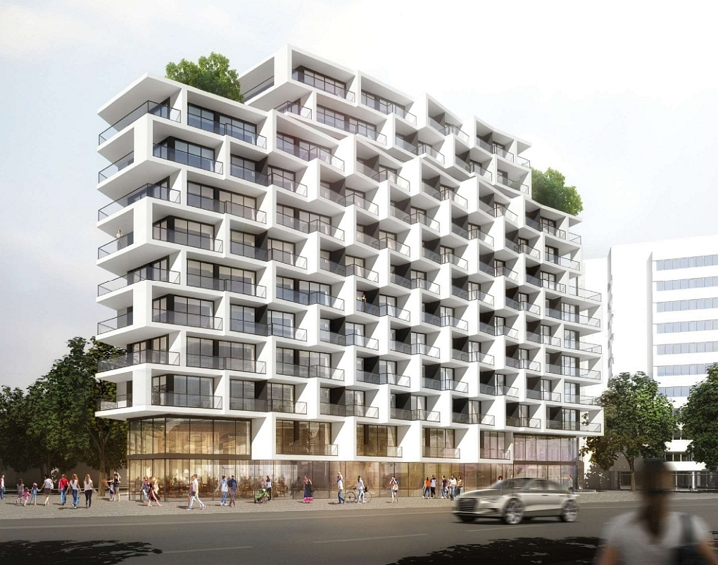 Eike Becker Architekten Apartmenthotel \