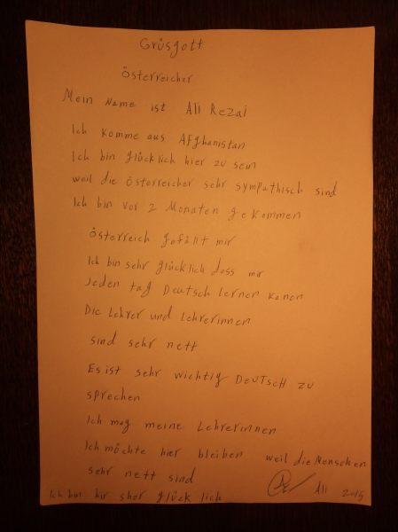 Zu Lernen Deutsch
