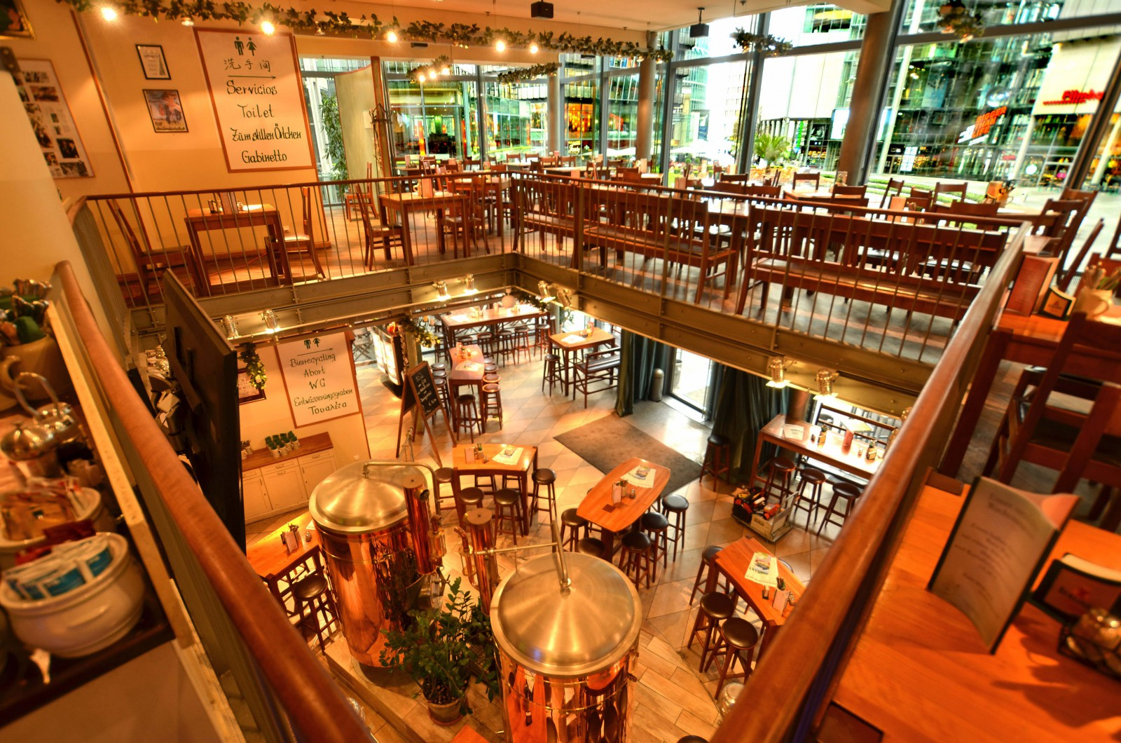 Gehobene Küche Berlin Restaurant Lindenbräu Im Sony Center In Berlin