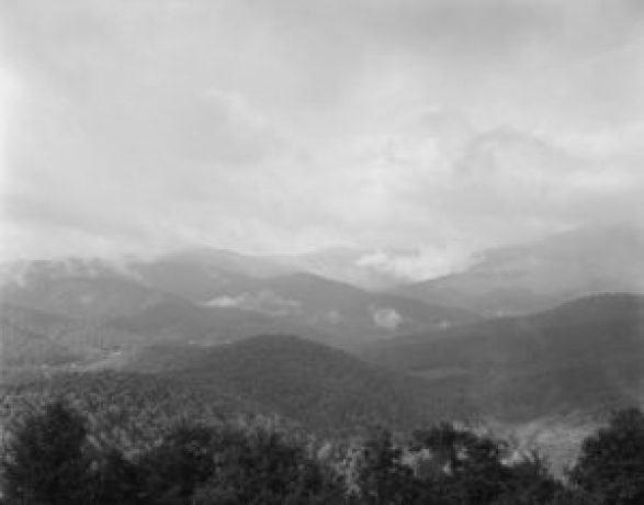 Black Mountains and Mount Mitchell