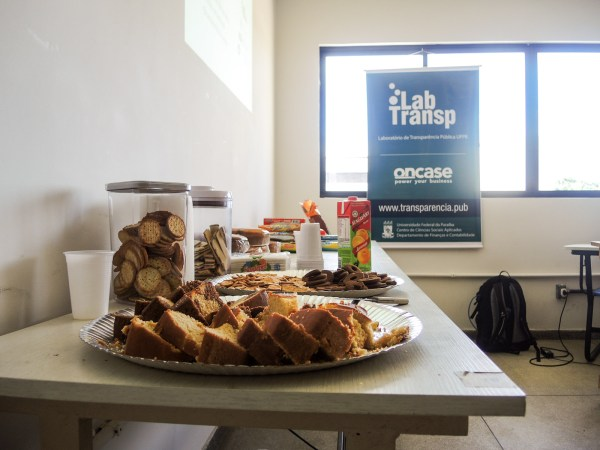 Thanks to Open Knowledge and ILDA, we were able to provide snacks for the participants