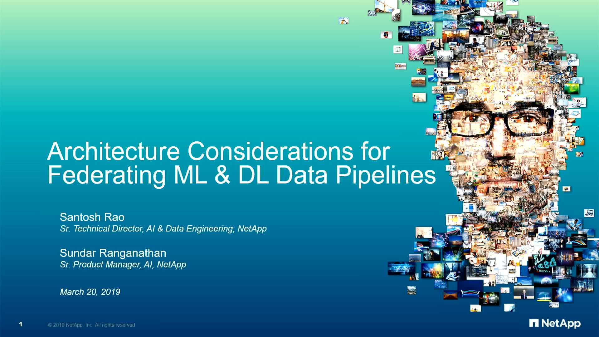 Dl Naar Ml Gtc Silicon Valley 2019 Architecture Considerations For