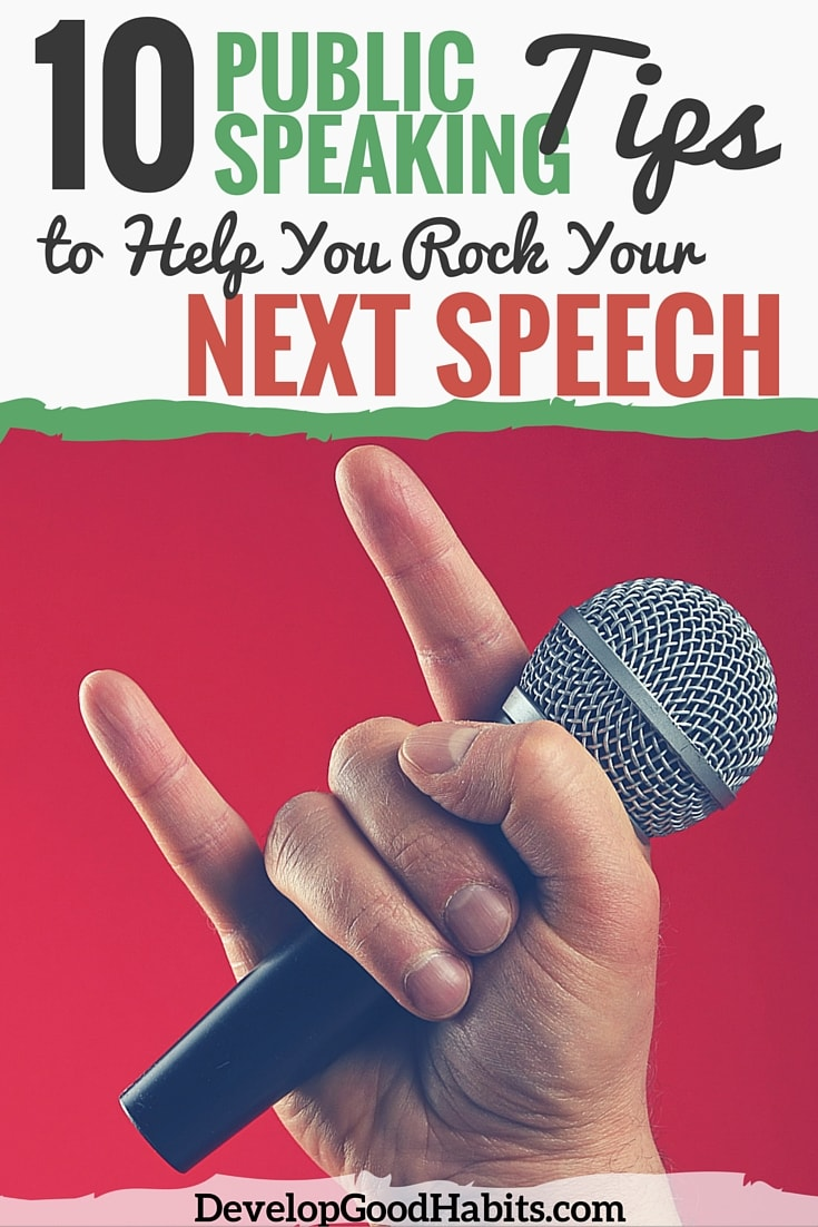 Public Tips 10 Public Speaking Tips For Your Next Speech