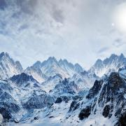 Ice-and-Snow-Mountains-Background