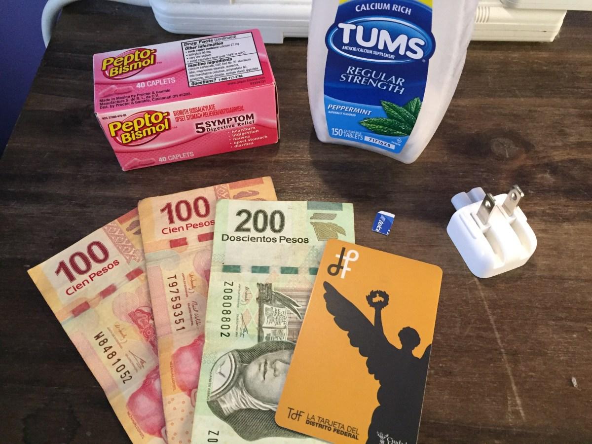 Qué llevar en un viaje a México