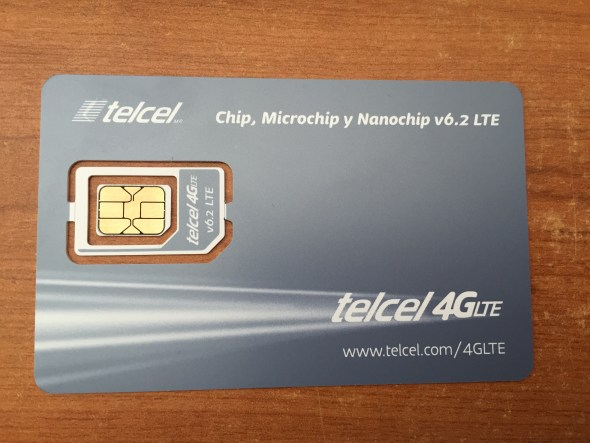 Tarjeta chip Telcel Amigo
