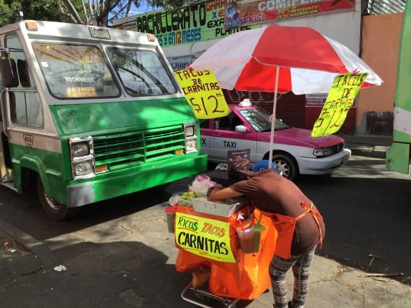 Vendedores en el Centro de Xochimilco