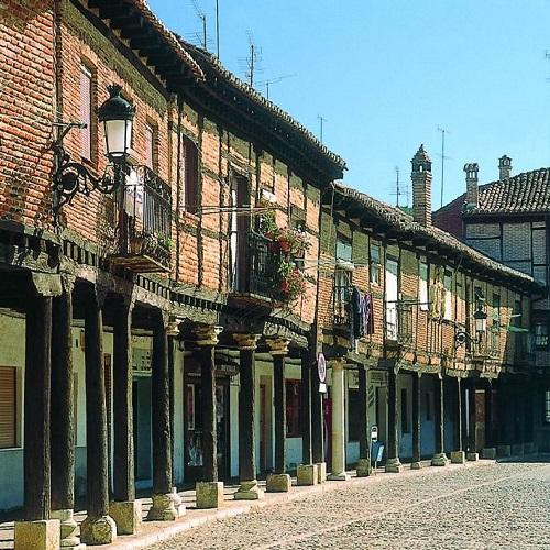 El pequeño municipio de Saldaña, en Palencia