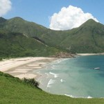 Las bellas playas de Hong Kong