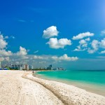 la playa de South Beach en Miami